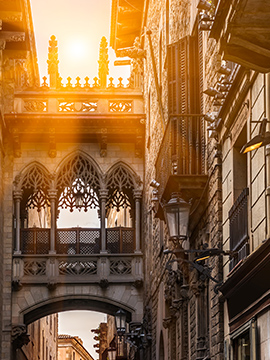 Imagen conceptual de Barcelona
