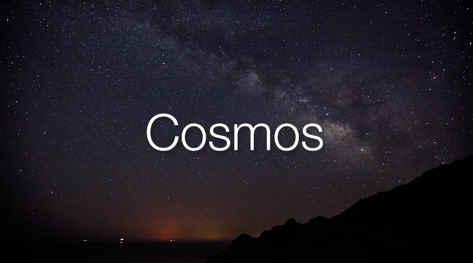 Portada de cosmos descripcion larga