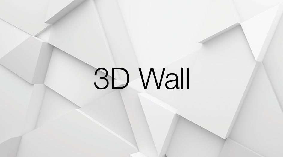 .3D wall